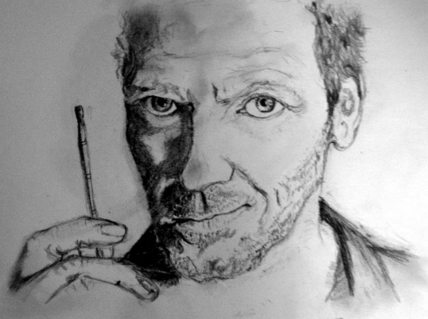 Hugh Laurie par charlinec